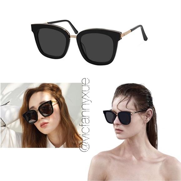 0d2a30a195bc0 Authentic Gentle Monster button sunglasses